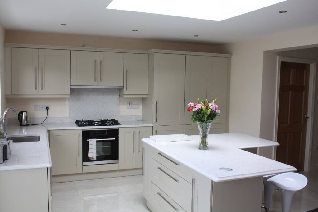 Recently Completed Extension Including New Kitchen Utility Co Galway By Conroy Kitchens